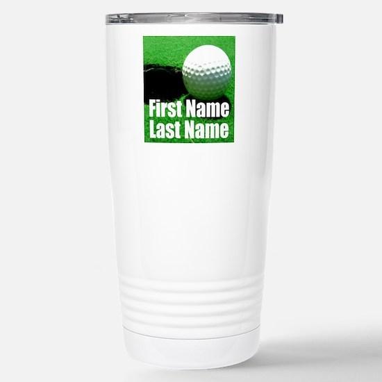 Golfball Travel Mug