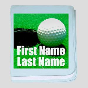 Golfball baby blanket
