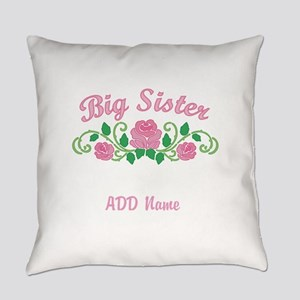 Personalized Big Sister Everyday Pillow