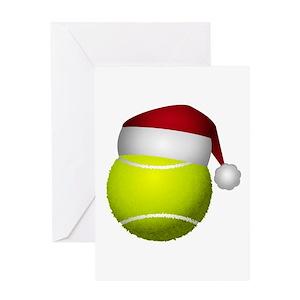 Tennis greeting cards cafepress m4hsunfo