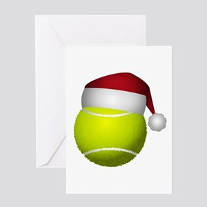 Tennis greeting cards cafepress christmas tennis greeting cards m4hsunfo Choice Image