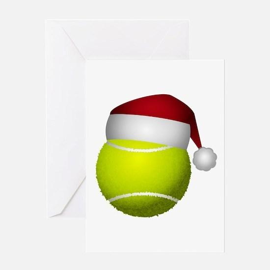 Christmas Tennis Greeting Cards
