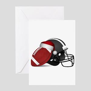 Christmas Football Greeting Cards