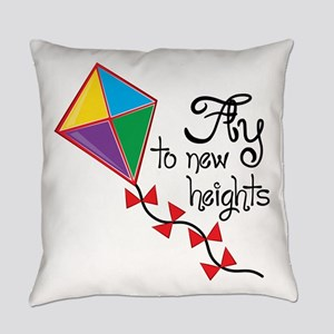 Fly to New Heights Everyday Pillow