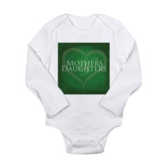 Mothers Daughters Long Sleeve Infant Bodysuit
