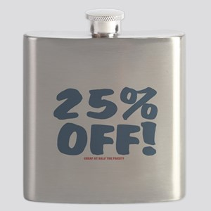 25% OFF - CHEAP AT HALF THE PRICE Flask