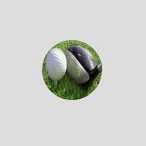Golfball Mini Button
