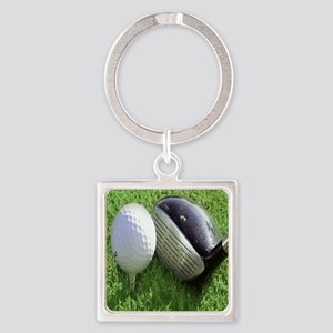 Golfball Keychains