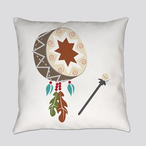 Native Drum Everyday Pillow