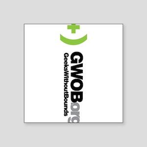 GWOB w Text Vertical Sticker