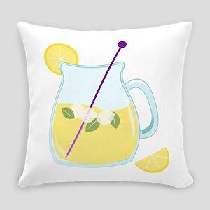 Pitcher of Lemonade Everyday Pillow