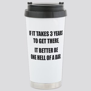 Bar Exam Stainless Steel Travel Mug