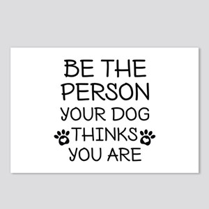 Be The Person Dog Postcards (Package of 8)