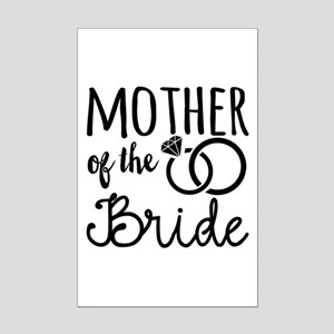 Mother of the Bride Mini Poster Print
