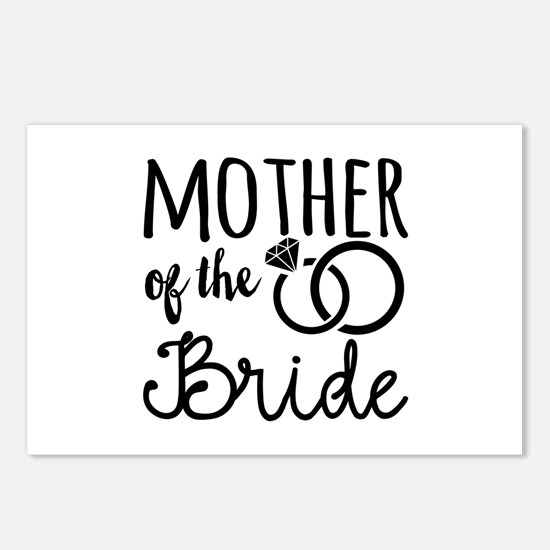 Mother of the Bride Postcards (Package of 8)