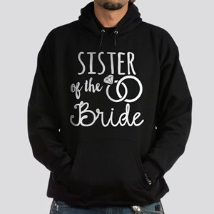 Sister of the Bride Hoodie (dark)