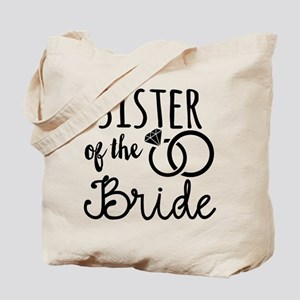Sister of the Bride Tote Bag