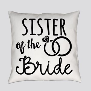 Sister of the Bride Everyday Pillow