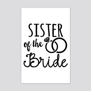 Sister of the Bride Mini Poster Print