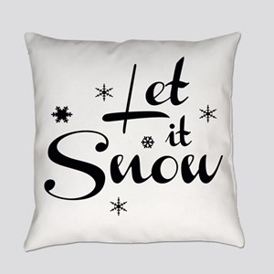 Let it Snow Everyday Pillow