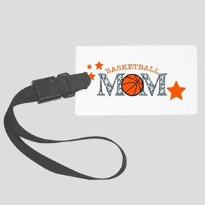 Basketball Mom Large Luggage Tag