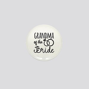 Grandma of the Bride Mini Button