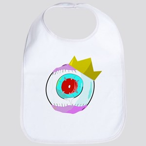 King Red Eye Ball Bib