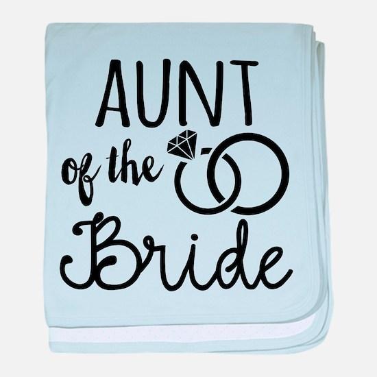 Aunt of the Bride baby blanket