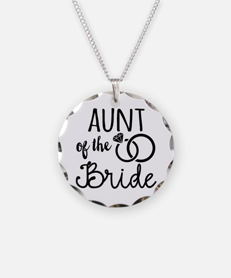 Aunt of the Bride Necklace
