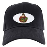 Harvest Girl Black Cap with Patch