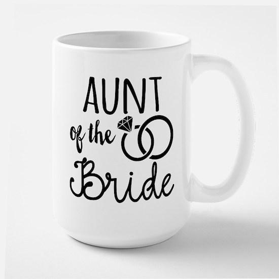 Aunt of the Bride Large Mug