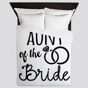 Aunt of the Bride Queen Duvet