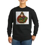 Harvest Girl Long Sleeve Dark T-Shirt