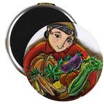 Harvest Girl Magnet