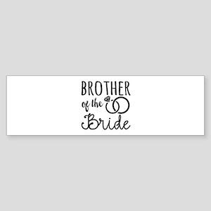 Brother of the Bride Sticker (Bumper)