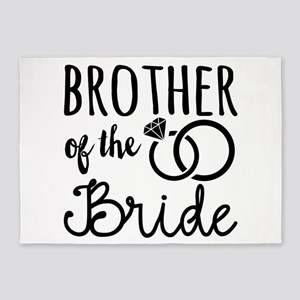 Brother of the Bride 5'x7'Area Rug