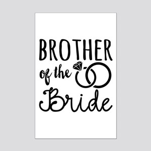 Brother of the Bride Mini Poster Print