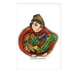 Harvest Girl Postcards (Package of 8)
