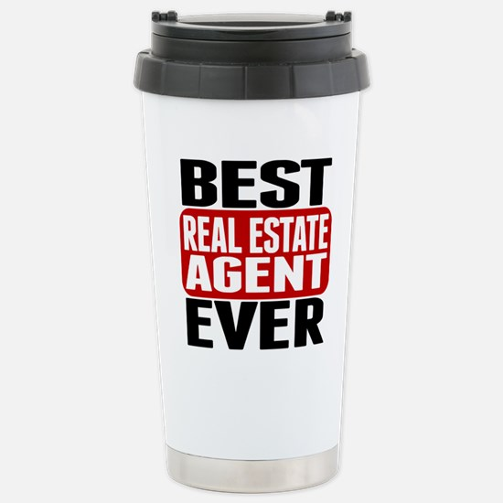 Best Real Estate Agent Ever Travel Mug
