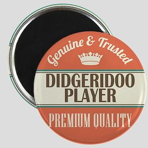 didgeridoo player vintage logo Magnet