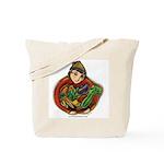 Harvest Girl Tote Bag