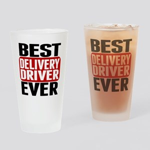 Best Delivery Driver Ever Drinking Glass