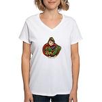 Harvest Girl Women's V-Neck T-Shirt