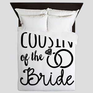 Cousin of the Bride Queen Duvet