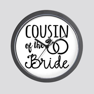 Cousin of the Bride Wall Clock