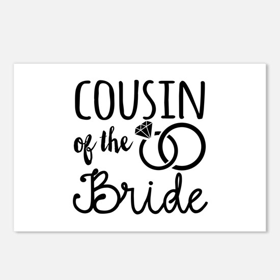 Cousin of the Bride Postcards (Package of 8)