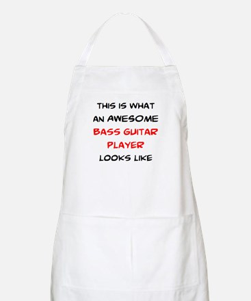 awesome bass guitar Apron
