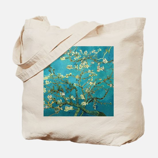 Unique Almond blossom Tote Bag