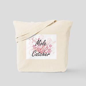 Mole Catcher Artistic Job Design with Flo Tote Bag
