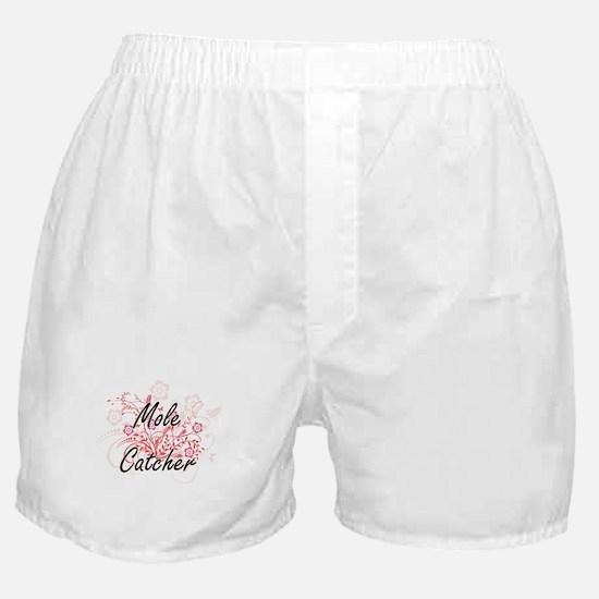 Mole Catcher Artistic Job Design with Boxer Shorts